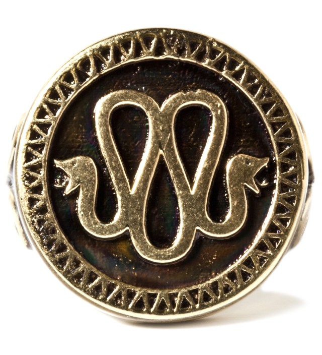 Stevin Gold x Mister Gold Snake Ring