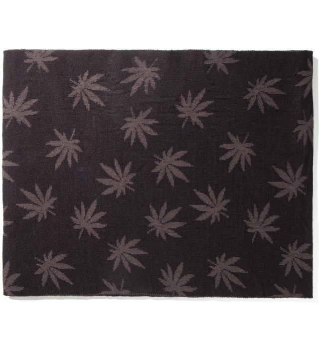 Black Plantlife Scarf
