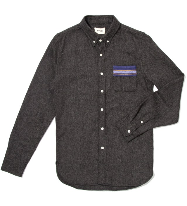 Anthracite Lemba Flannel Shirt