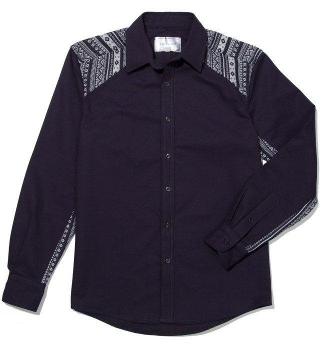 Navy Novelty Shirt