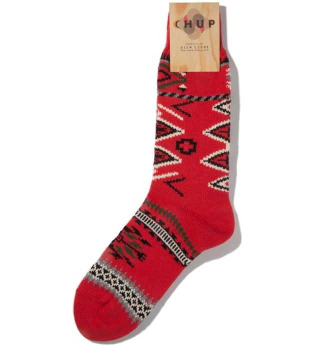 Red Ganado Socks