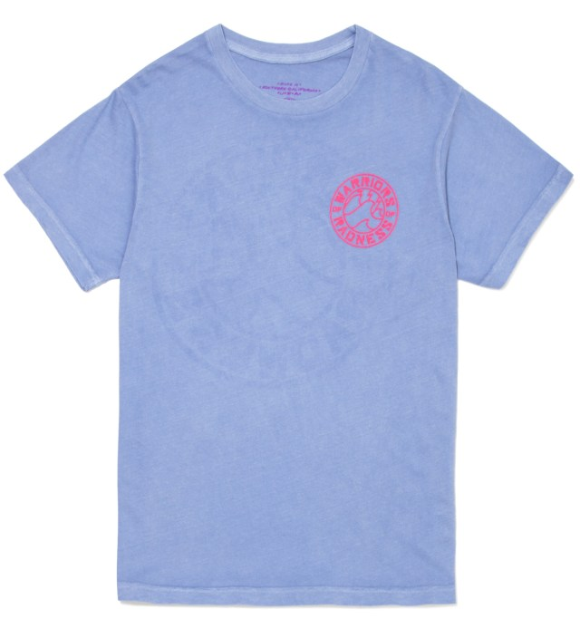 Light Blue Strikers Stencil T-Shirt