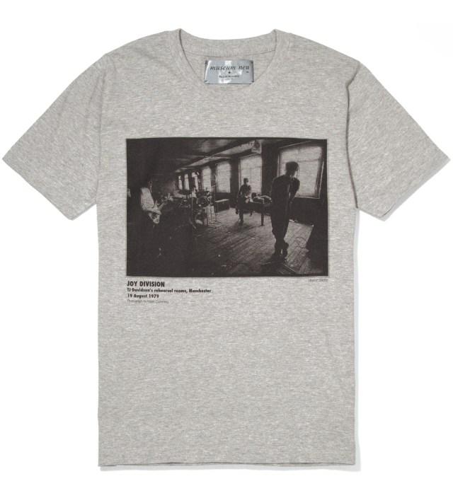 museum neu x Kazuki Kuraishi Grey Joy Division T-Shirt