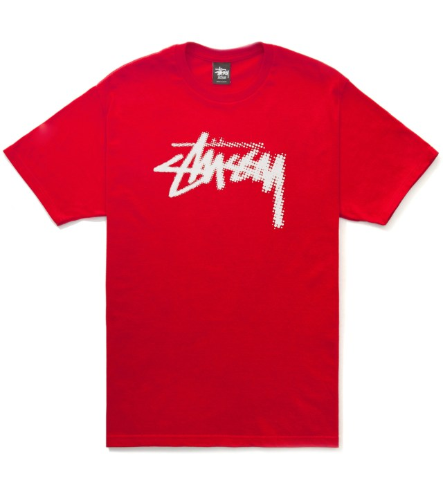 Red Halftone Stock T-Shirt