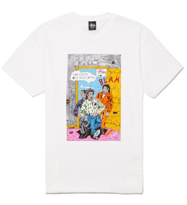 White Real Deal Blam T-Shirt