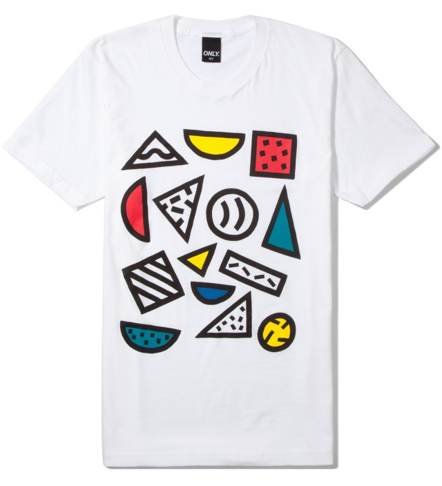 White Shapes T-Shirt