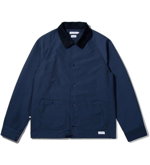 "Deluxe for Hypebeast Navy ""Bench Rider"" Coach Jacket"