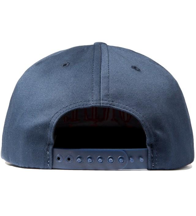 Navy Modern Snapback Cap