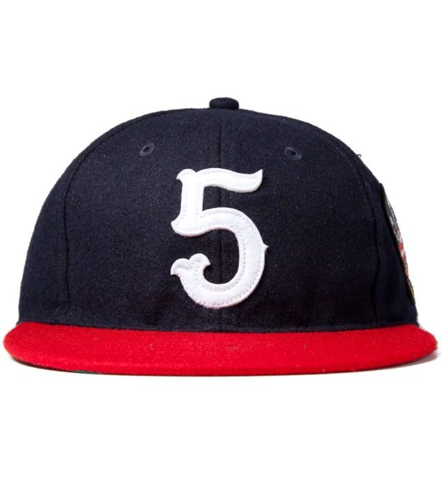 Navy No. 5 Ebbets Ballcap