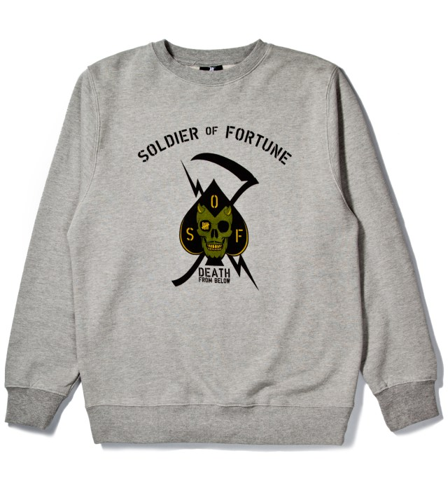 Heather Grey Death From Above Crewneck