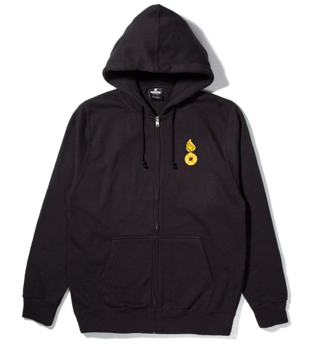 Black No. 1 Bullet Zip Hoodie