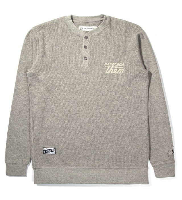 Heather Grey Julian Thermal Henley