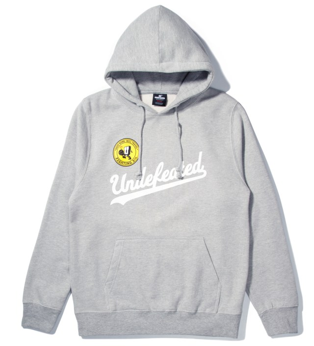 Heather Grey UND Script Hoodie