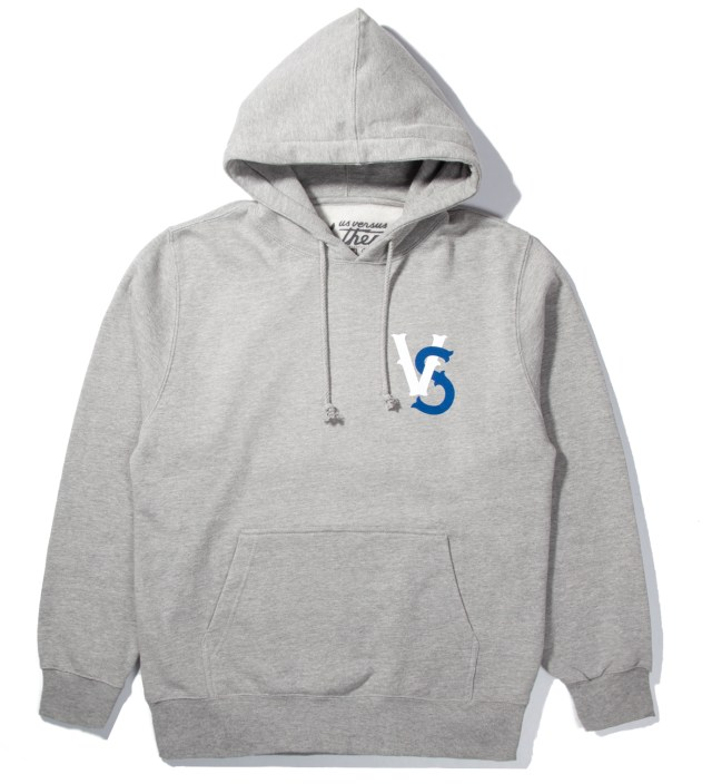 Heather Grey Pennant Race Hoodie