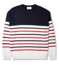Navy Parisian Stripe Sweater