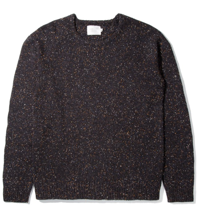Night Sky Marled Crewneck Sweater