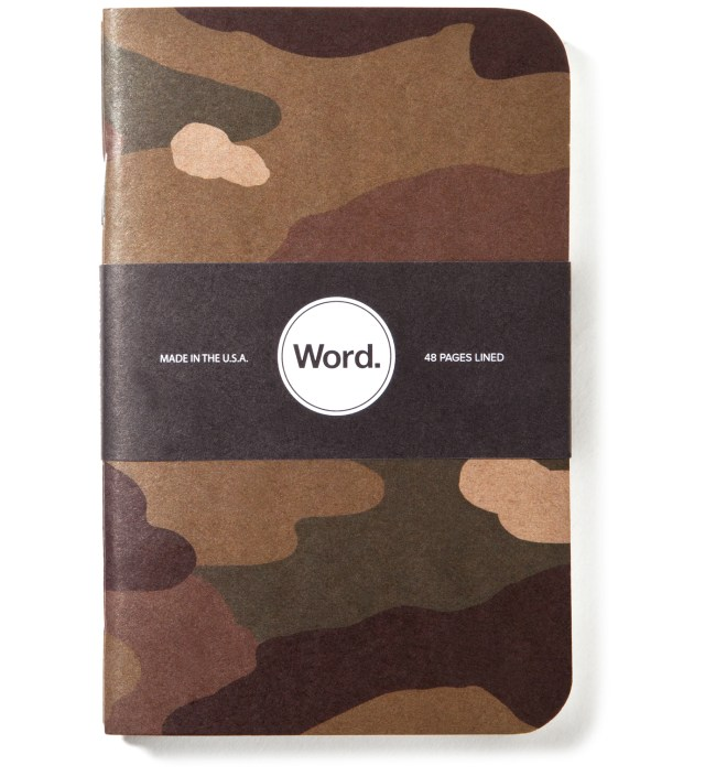 Traditional Camo 3 Pack Notebook