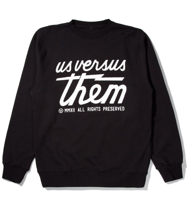 Black Preserved Crewneck