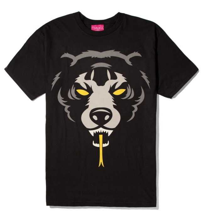 Black Oversize Adder T-Shirt