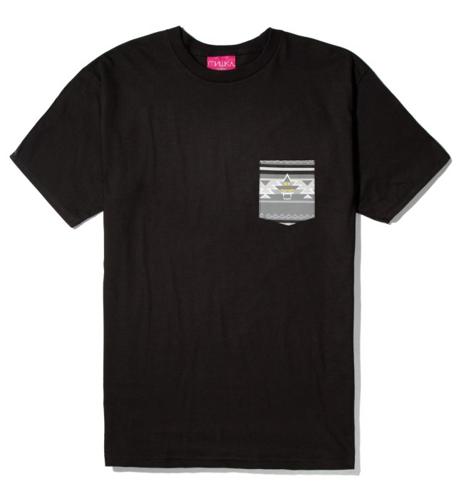 Black Vision Quest Pocket T-Shirt