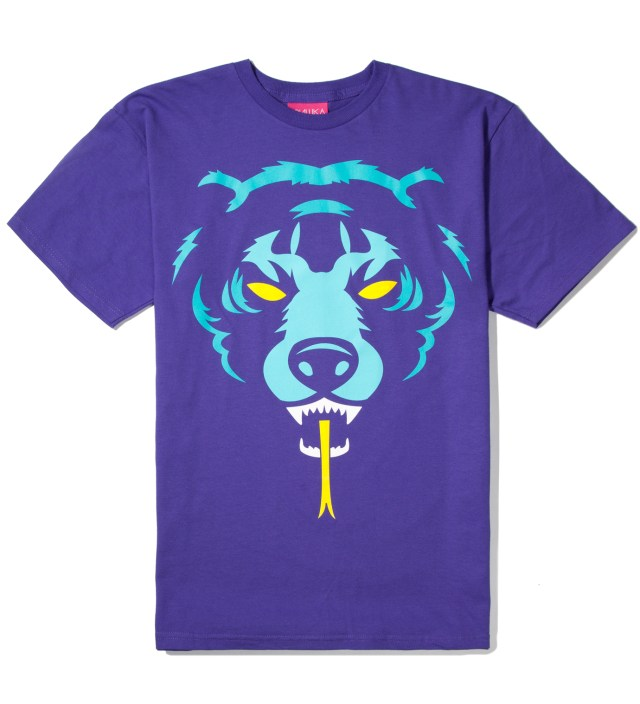 Purple Oversize Adder T-Shirt