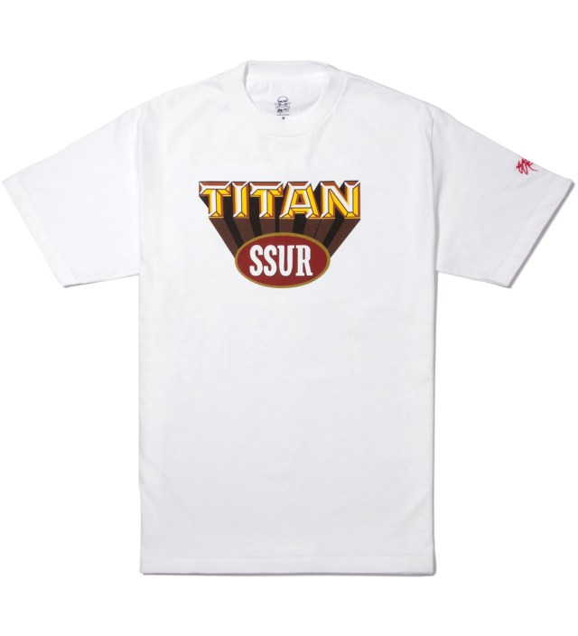 White Titan T-Shirt