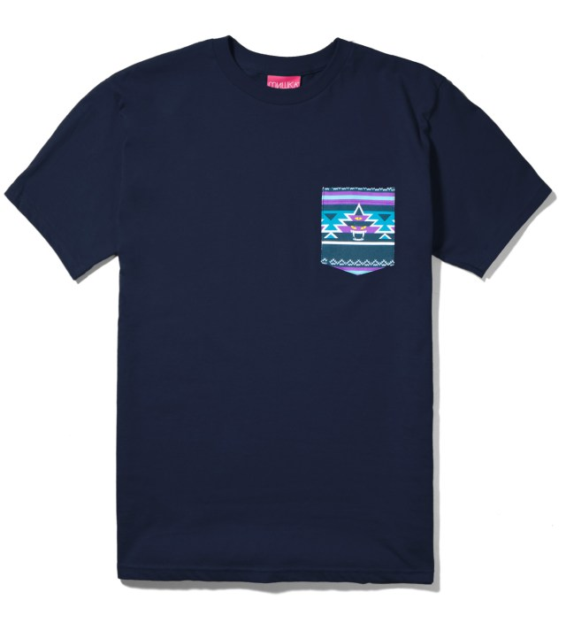 Navy Vision Quest Pocket T-Shirt