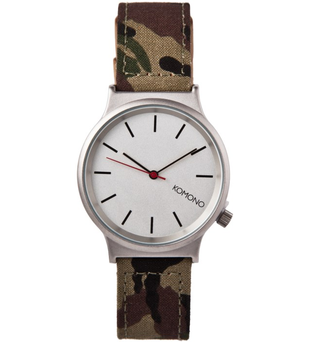 Woodland Camo Wizard-Print Watch
