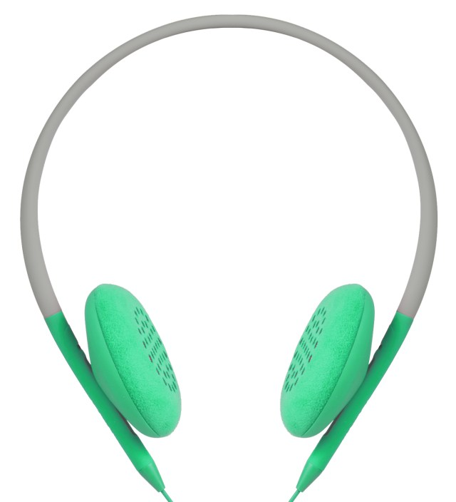 Primer/Apple Green Pivot Packable Folding Headphones