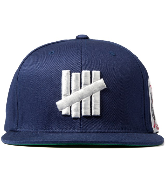 Navy 5 Strike Ace Starter Cap