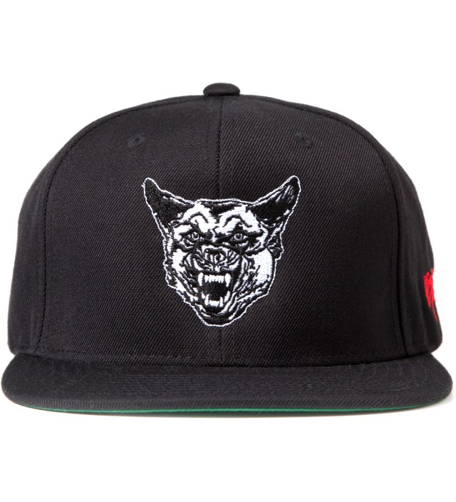 Black Fair Warning Snapback Cap