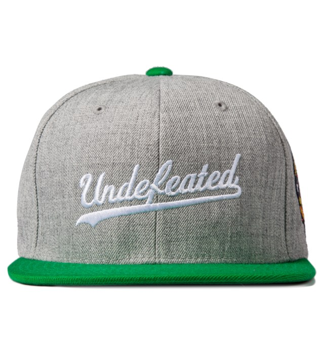 Heather Grey Script Starter Cap