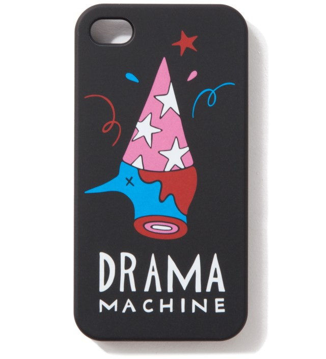 Black The Drama Machine iPhone 4/4S Cases