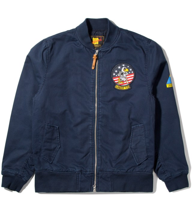 Navy Tomcat Zip Jacket