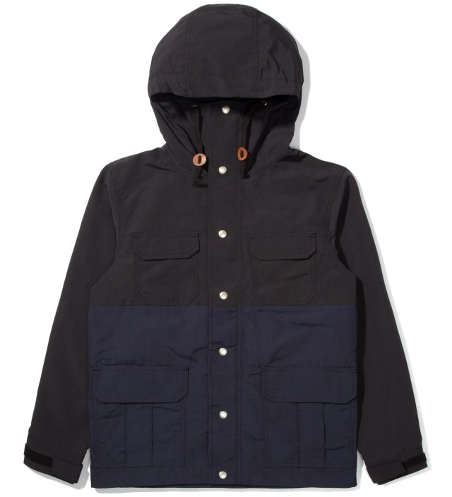 Black/Navy Two-Tone Mountain Parka