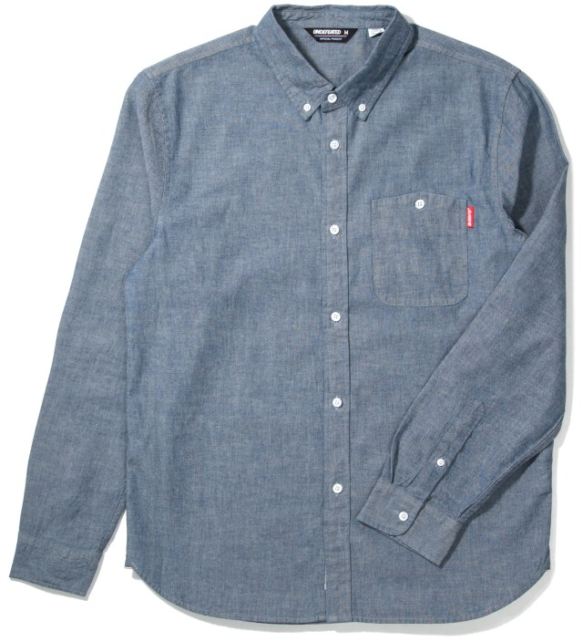 Indigo Eagle Chambray Shirt