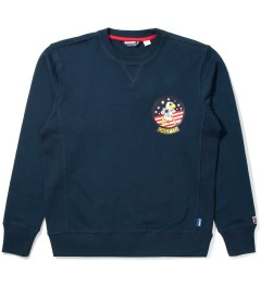 Undefeated Navy Eagle Crewneck Picutre