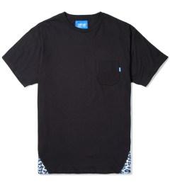 Tantum Black Pyramid Leopard Print T-Shirt Picutre