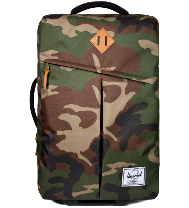 Woodland Camo Campaign Luggage