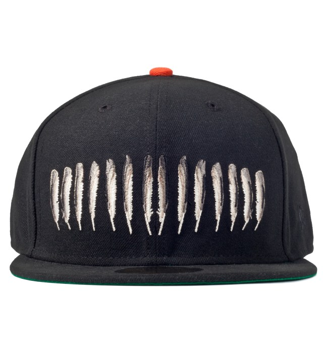 Black Feather King New Era Cap
