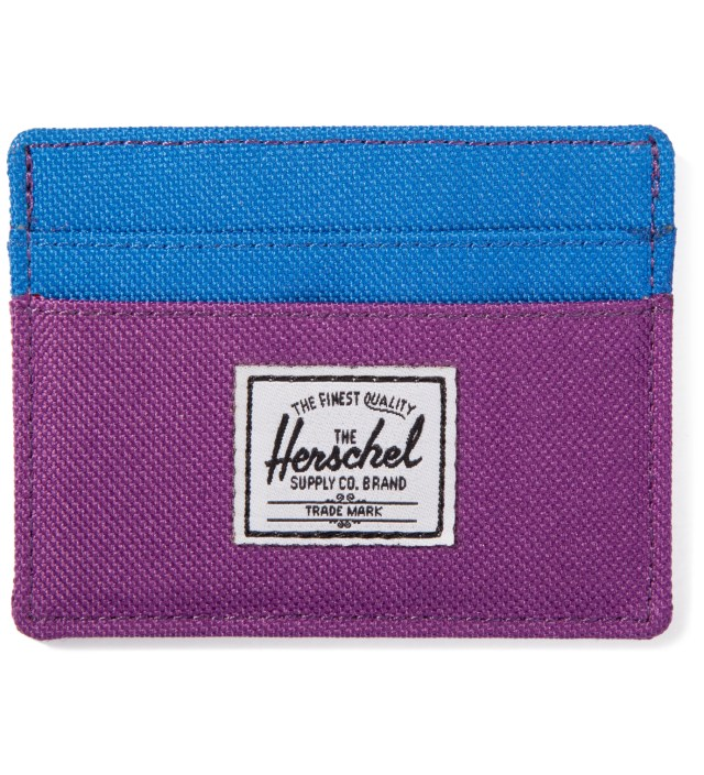 Purple/Cobalt Charlie Card Case