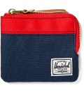 Red/Navy Johnny Wallet
