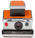 Chrome Body (Brown) Refurbished Vintage Polaroid SX-70 Camera
