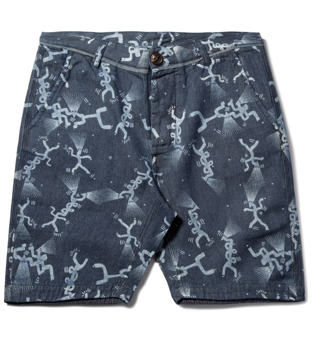 Indigo Navy Tribe Short