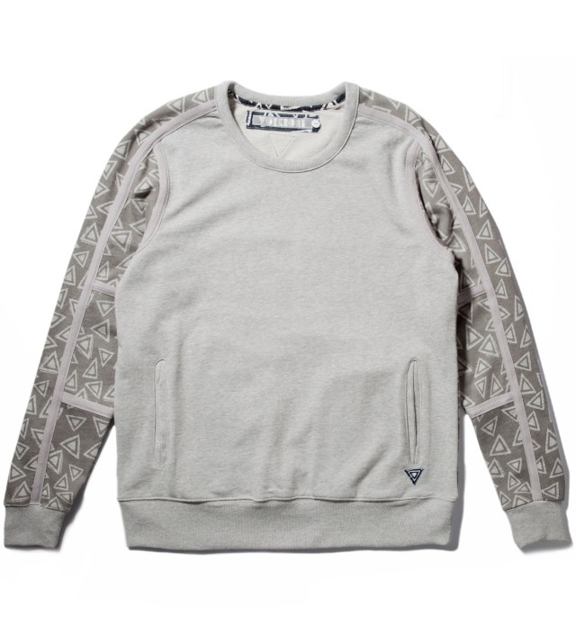Grey Marl Ziggy Crewneck