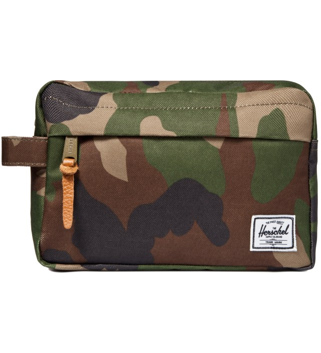 Woodland Camo Token Travel Bag