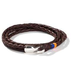 Miansai Brown Trice Silver Bracelet   Picutre