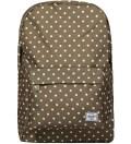 Olive Polka Dot Classic Backpack