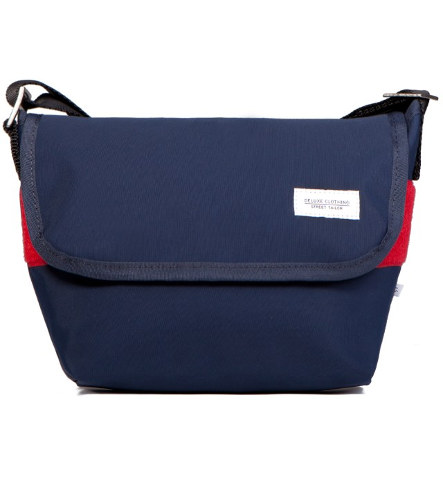 Navy Sally Bag