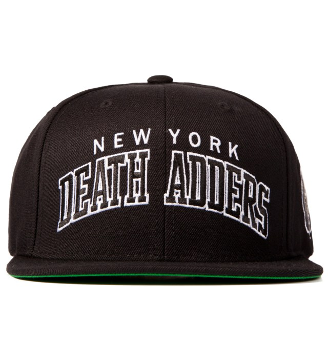 Black Death Adder Varsity Starter Snapback Cap